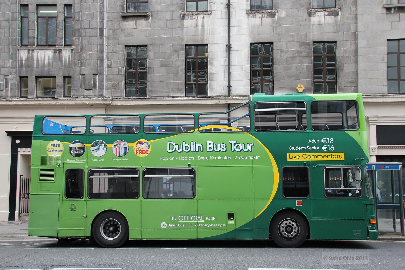 Dublin Tour Bus