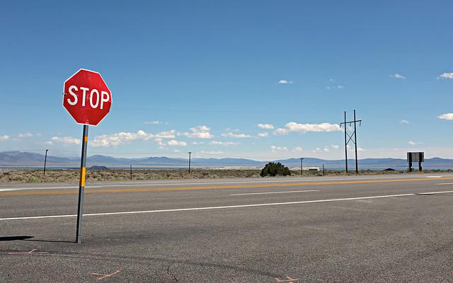 Stop am Mono Lake / Stop at Mono Lake