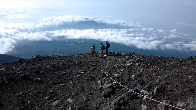 富士山 Fuji san climbing