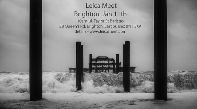 Brighton meet flyer - photo Marc Hartog