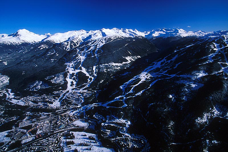 Whistler Blackcomb Ski Resort, Whistler, Whistler Valley, Sea to Sky, British Columbia, Canada