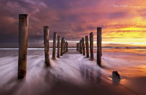 longexposure sunset newzealand storm pier stclair jetty ngc dunedin seacape nikond600