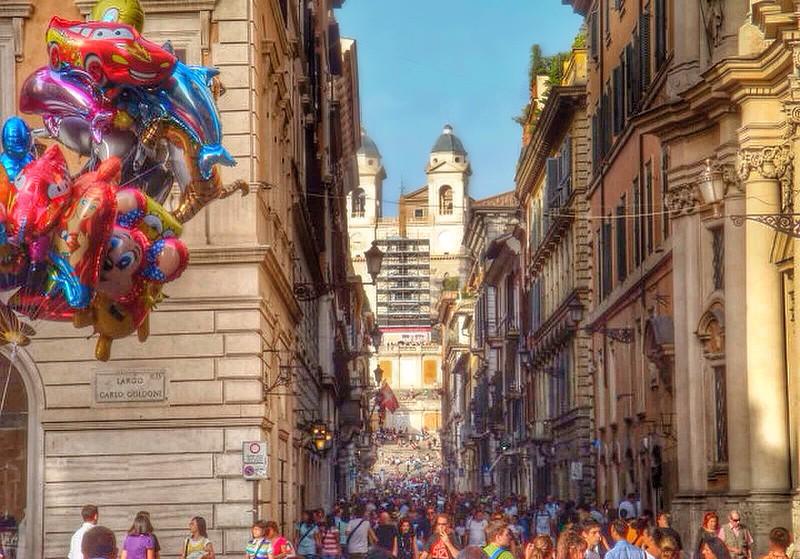 spanish steps | rome.