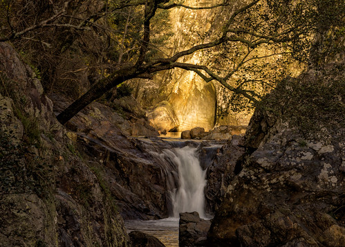 light sunset tree portugal golden waterfall rocks canyon casaldesãosimão canadapt