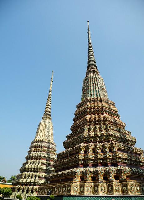 Chedis de Wat Pho