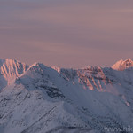 Kintla Peak Alpenglow