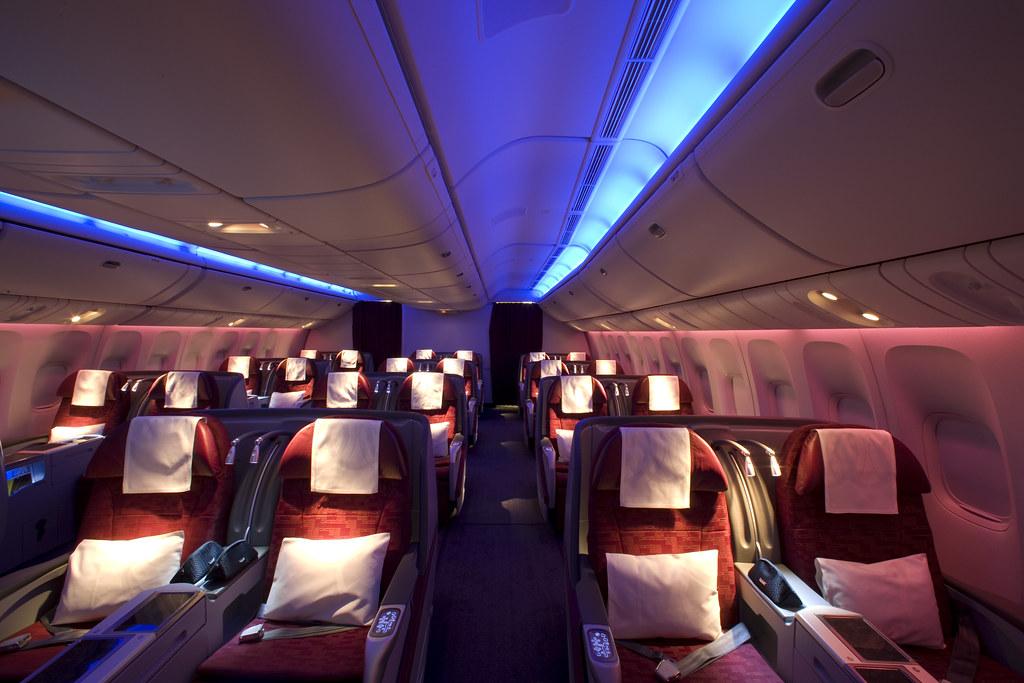 Pic 23 Qatar Airways Boeing 777 300er Business Class Flickr