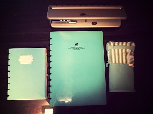 circa notebook & punch
