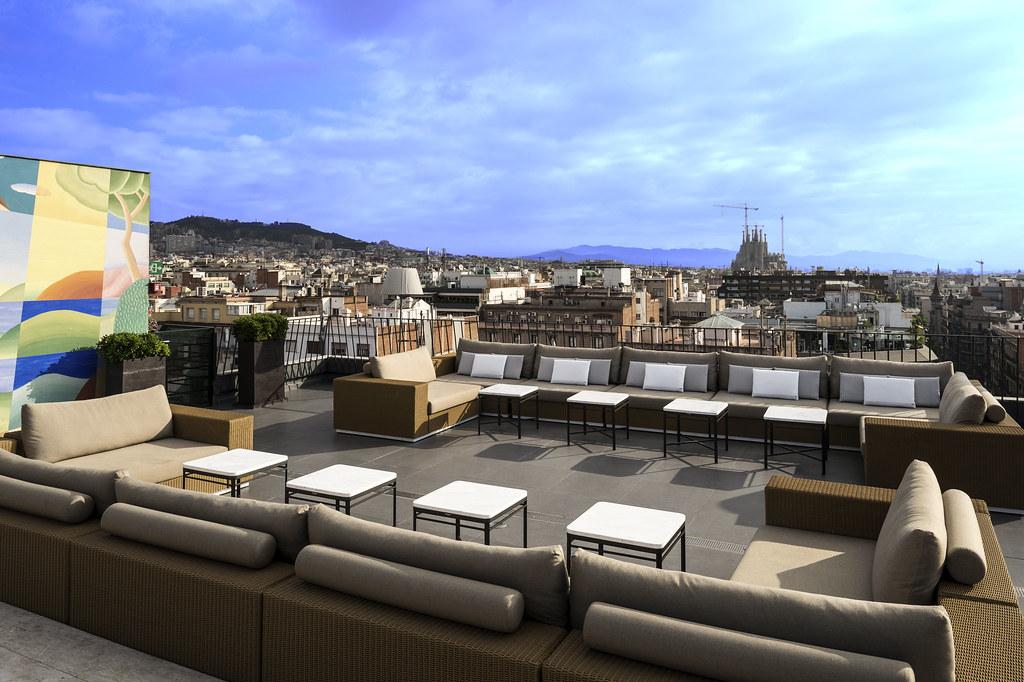 Rooftop Terrace Majestic Hotel Spa Barcelona 1 Majestic