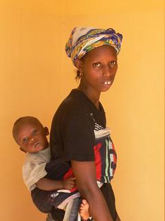 Mamma con il suo piccolo