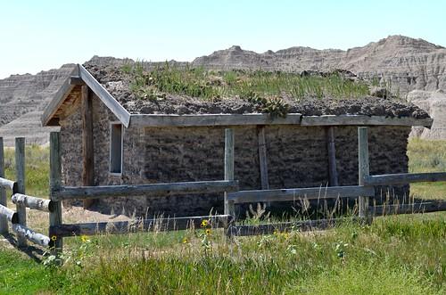vacation usa holiday nebraska tour ne neb crawford 2013 sodhouse toadstoolgeologicpark