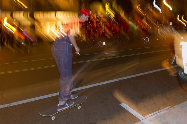 SF Halloween 2013: mario skate