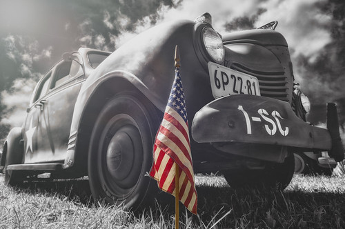 wowography wowographycom vintage usa sky shadow sigma1020mm red retro photoshopcc ny newyork nik nikon nassau longislandphoto longisland landscape handheld d90 dfine2 colorefexpro4 clouds bokeh 2013 alienskin americanflag autumn blackandwhite selectivecolor veteransday 500767 war veterans military navy army marines nationalguard plymouth staffcar blackwhite classiccar tribute heros servingourcountry america dustscratches texture 1942plymouth wwiiusarmystaffcar wwii oldbethpagevillage tomreese photography 500px