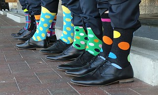 Colourful Socks and Pointy Shoes | by Theen ...