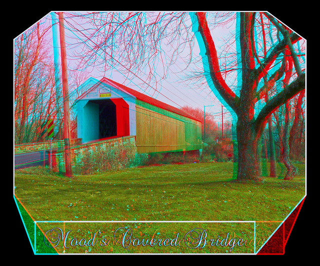 Mood's Covered Bridge 3D