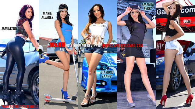Wallpaper - Year in Review, 2013 Top Model Images from Wheels and Heels Mag event coverage