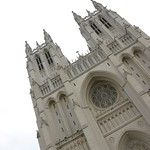 Outside National Cathedral