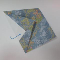วิธีการพับกระดาษเป็นรูปม้า (Origami Horse) 026