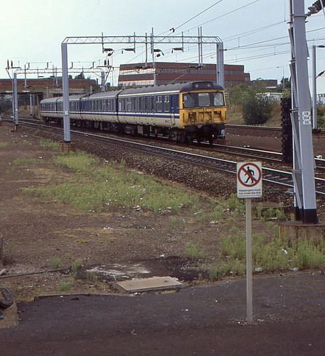 Liv On Fifth Birmingham Al: BR Class 310 EMU 310110, Birmingham International, 5th. Se