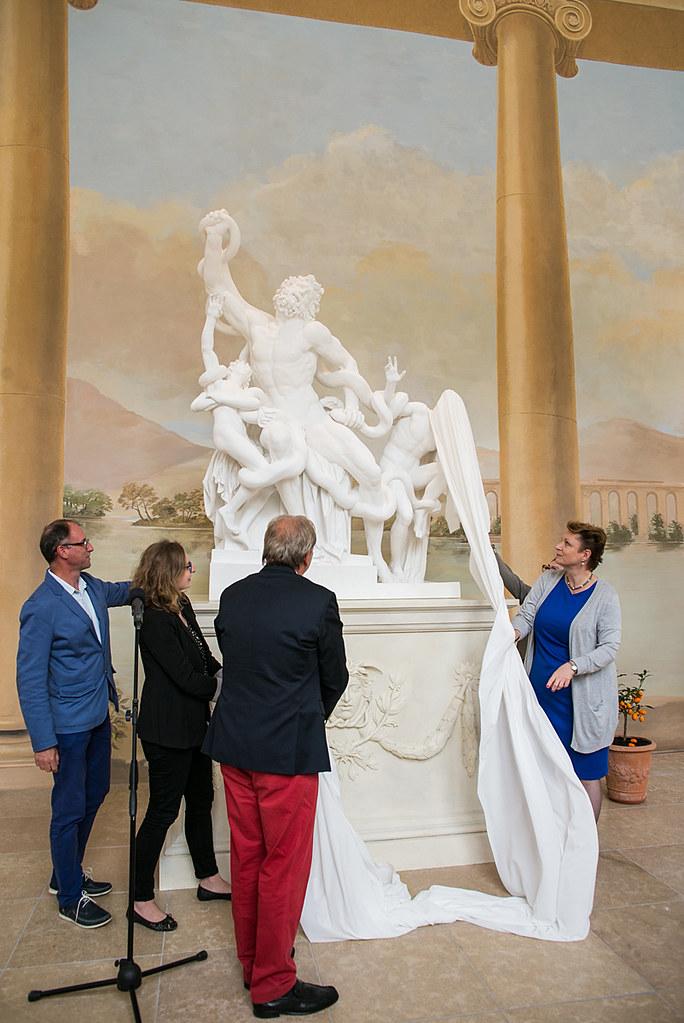 Otwarcie Królewskiej Galerii Rzeźby W Starej Oranżerii W M