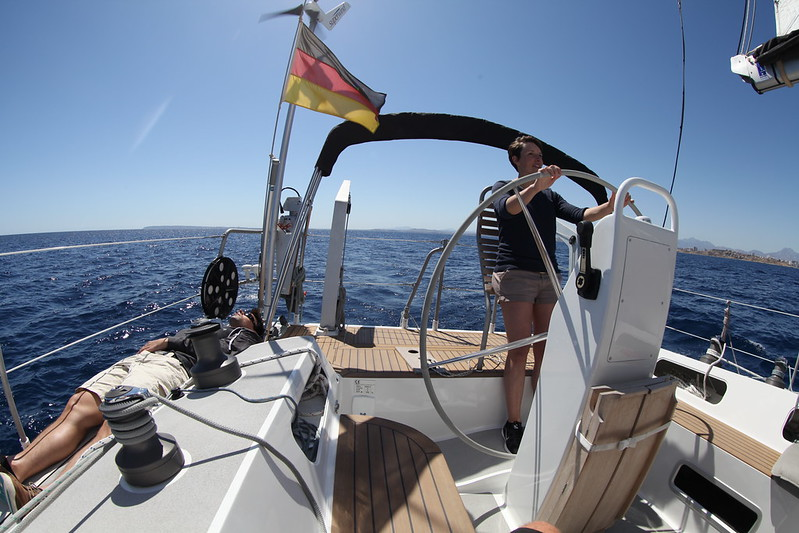 On the way from Alicante to Formentera