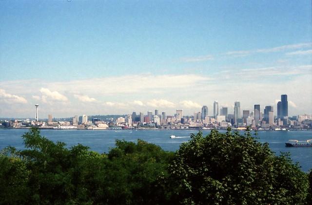 1997 Seattle Skyline