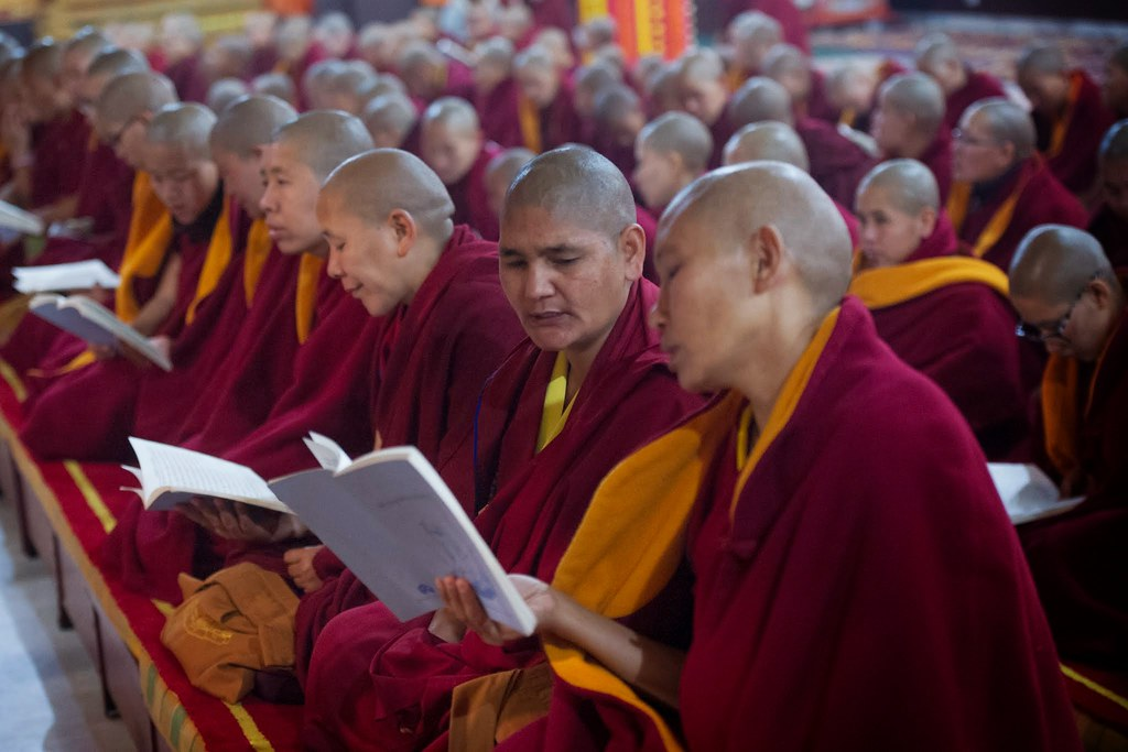 2015.01.08 Gyalwang Karmapa Opens Second Arya Kshema Winter Dharma Gathering