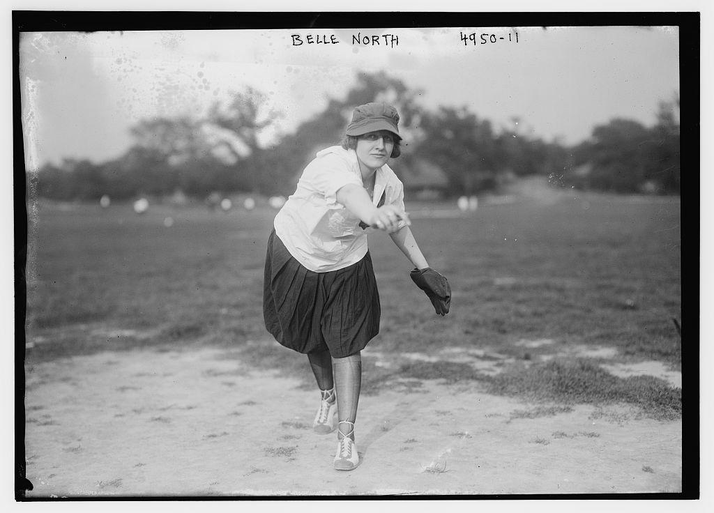 [Belle North, female pitcher (baseball)] (LOC)