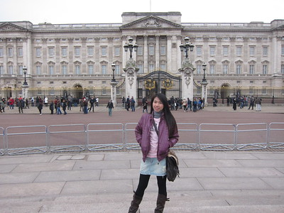 The Buckingham Palace, London