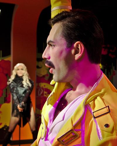 Madonna and Freddie Mercury