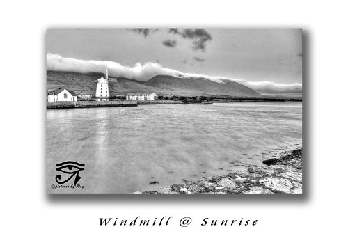 ireland landscape cokerry blennerville blennervillewindmill windmillsunrise picturesbyray