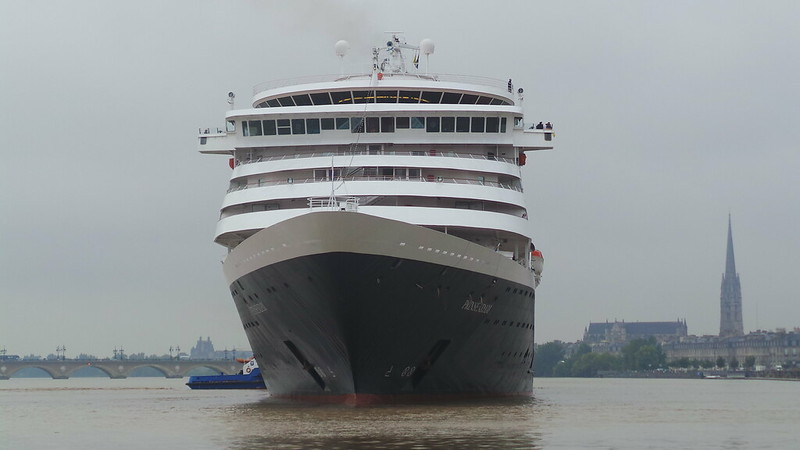 Accostage du MS PRINSENDAM - Bordeaux - 06 septembre 2013