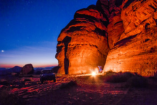 Camping Wadi Rum | by indii.org / Lawrence Murray
