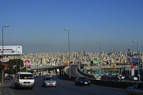 Leaving Beirut, view from Hazmiyeh | by objectivised