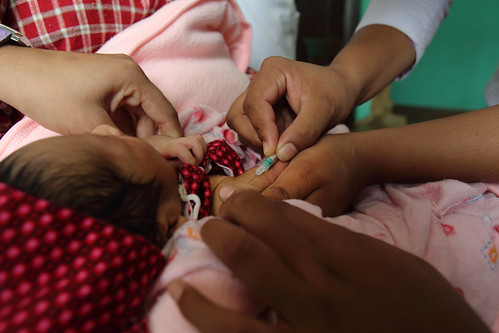 District Public Health Office, Immunisation Clinic, Pokhara, Nepal. | by DFAT photo library