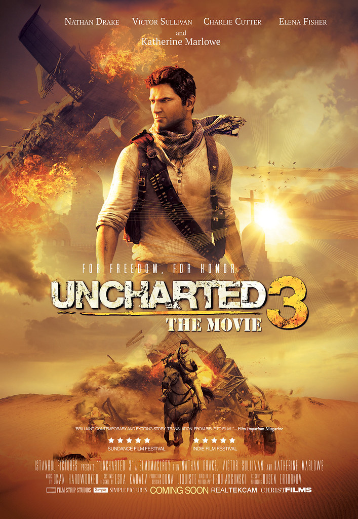 Uncharted 3 Poster Uncharted 3 Poster Movie Poster Elmomaclroy