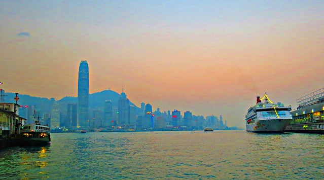 Sunset, Hong Kong
