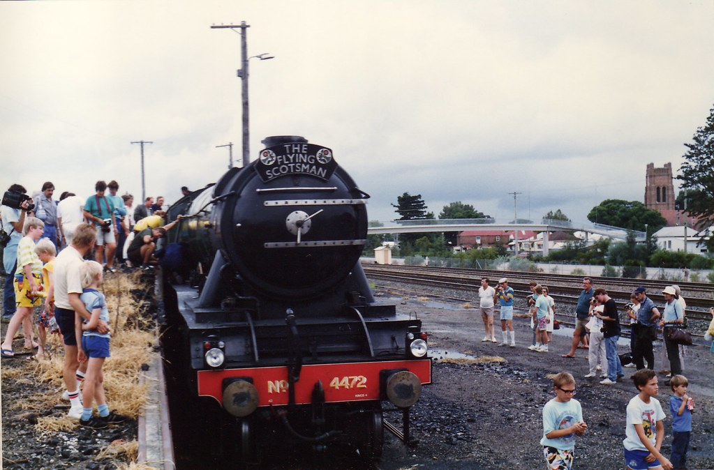 Flying Scotsman Steamfest 1989 2 by LC1073
