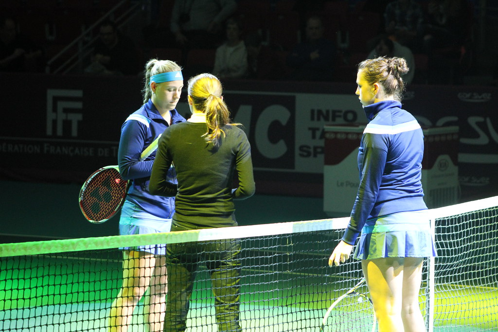 Angelique Kerber and Anastasia Pavlyuchenkova
