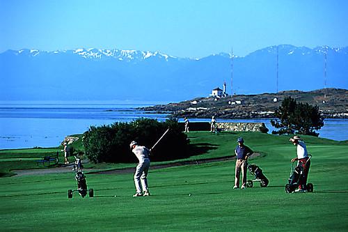 Victoria Golf Club in Oak Bay, Victoria, Vancouver Island, British Columbia, Canada