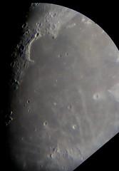 Moon Feb 10th, close on Mare Imbrium