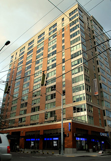 First Hill Infill:  Coppins Well Apartments,  Minor and Madison, Seattle WA