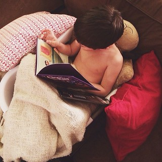 The laundry basket obsession continues: story time edition. | by AngieSix
