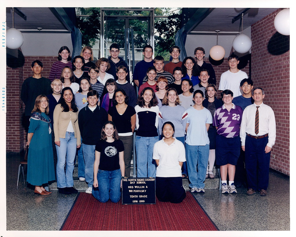 1998-1999_10th | 1998-1999 10th Grade Class Photo | North ...