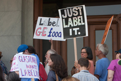 Rally to Support GMO Food Labeling | by CT Senate Democrats
