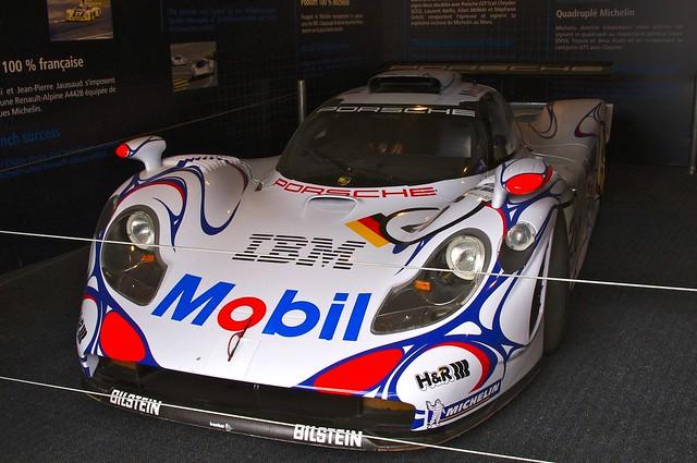 Porsche 911 GT1 - Winner of the GT1 Class at Le Mans 24 Hours 1996