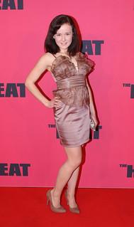 Arianwen Parkes Lockwood - The Heat red carpet movie premier