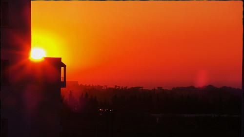 le coucher de soleil zemmouri