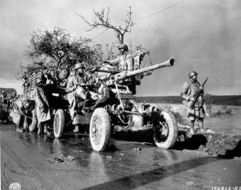 American 40mm Bofors M1 - 1943/45