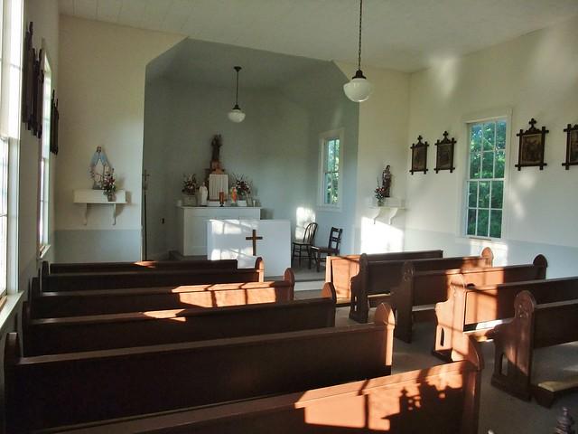 St. Anthony Catholic Church/Mission, (near Hermann, MO) Bridgeport, MO